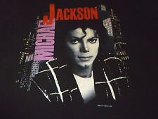 Michael Jackson Vintage 1988 Tour Shirt ( Used Size L ) Used Condition!