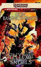 The Temple of Yellow Skulls: Abyssal Plague, Book 1 (Pandemonium)-ExLibrary