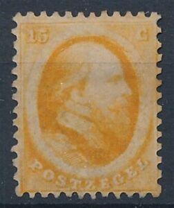 [8777] Nederland 1864 RARE stamp very fine MH value $1500