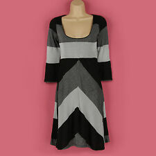 Viscose Jane Norman Striped Dresses for Women