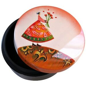 YoiYoi Hand Painted Black Lacquer Box - Mothers