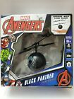 Marvel Avengers BLACK PANTHER Flying UFO Ball. Control with your hand.
