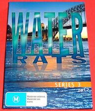 WATER RATS SERIES 3 PART 2..R4 DVD EX..AUSTRALIAN POLICE DRAMA SYDNEY 3 x DISCS
