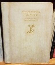 Arthur Rackham Sleeping Beauty Signed Limited Edition Vellum Illustrated HC