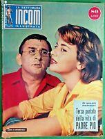 RASCEL & GIOVANNA RALLI - INCOM RIVISTA DI SPETTACOLO-N.40 del 1957-RIF.7719