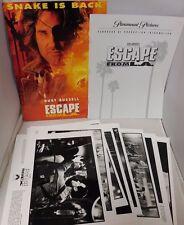 Escape From L.A. 1996 Movie Original Press Kit With 8 Black & White Photos Rare