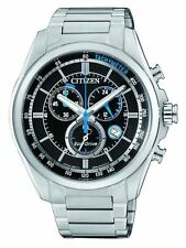 Citizen Eco-Drive Watch, AT2130-83E, Silver Tone, 43mm Case, WR10ATM  RRP $550