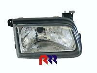 FOR HOLDEN RODEO TF 01/97-2004 HEAD LIGHT, SINGLE BEAM, CRYSTAL LENS-DRIVER SIDE