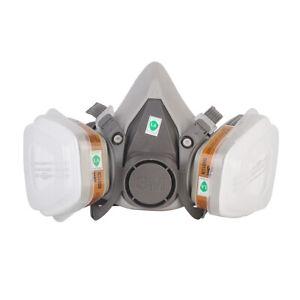 Atemschutzmaske Aktivkohle chemikalien Staubschutz Gasmaske
