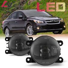 LED For Subaru Impreza 12-18 Clear Lens Pair Bumper Fog Light Lamp Replacement