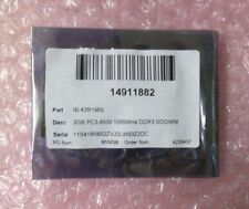 NEW 2GB DDR3-1066 204 PIN S0-DIMM 43R1969-IN Ram Memory In Sealed Packaging