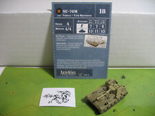 Axis & Allies D-Day SU-76M with card 7/45