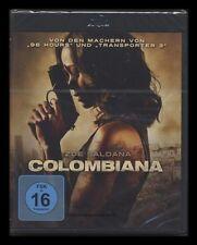 BLU-RAY COLOMBIANA - ZOE SALDANA - produziert von LUC BESSON *** NEU ***