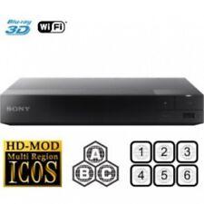 Sony BDP-S5500 3D WiFi MULTI REGION ALL REGIONS Free ABC DVD 1-8 Blu-Ray Player