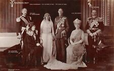 ROYAL WEDDING GROUP - DUKE & DUCHESS OF YORK ~ A REAL PHOTO POSTCARD #224169