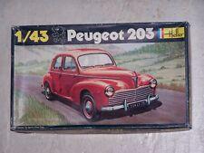 Maquette HELLER 1/43ème PEUGEOT 203