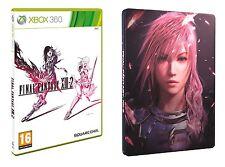 Final Fantasy XIII-2 + Steelbook  Xbox 360 Nuovo!!!