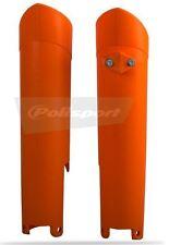 Orange KTM Fork Guard Protector SX - SXF EXC EXCF 125 150 250 350 450 15 16 2017