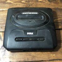 Sega Genesis Authentic Model 2 MK-1631 -Black Console ONLY