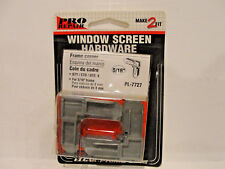 "Prime-Line Pro Repair 5/16"" Window Screen Hardware Frame Corner, Qty 4, PL-7727"