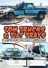 Tow Trucks Tilt Trays Safety Check Truck Log Book Fault Reporting Logbook