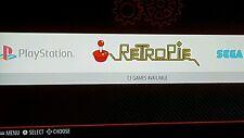 retropie + kodi over 8,000 games  complete system