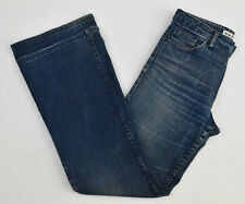 Womens ACNE Jeans A-Pant Just Blue Straight Leg Denim Pants W30 L34