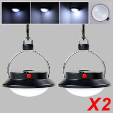 2pcs Ultra Bright Rechargeable 60 LED Camping Tent Light Lantern Fishing Lamp