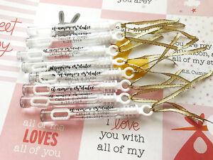El Amor Es Dulce Bubble Wedding Bubble Tube Labels, Bubble Wand Labels, Favors