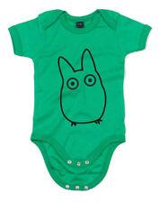 Chibi Totoro Mi Vecino Totoro inspirada Kid's Estampado Crecimiento De Bebé Lindo Mameluco