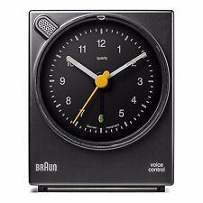 Braun Design BNC004 sprachgesteuerter Wecker, BKBK, 66006