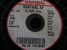 Kanthal Af Round 07mm Resistance Heating Wire 5 Meter Iron Chromium Alumi