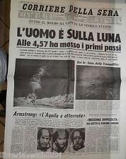 Primo uomo sulla Luna Passeggiata lunare Apollo Armstrong Viaggio spaziale di e