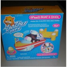 ZHU ZHU PETS Speed Boat & Dock Add-On Set #86681 - NEW!