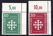 1956 Kirchentag Mi. 235-36 ** Ecke 2 Luxus!