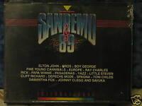 SANREMO 89 - 2 MUSICASSETTE ORIGINALI  SIGILLATE -