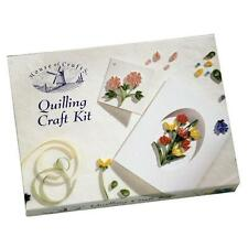 HOUSE OF CRAFTS QUILLING STARTER KIT GIFT SET PAPER TOOL CARD MOUNTS BOOK MARK