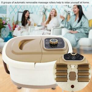 Electric Foot Spa Bath Shiatsu Roller Motorized Massager Fast Heating 4L 500W