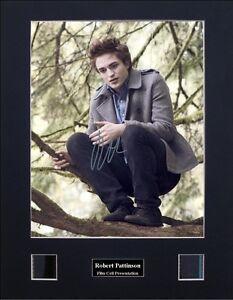 Robert Pattinson Twilight Version 2 Signed Photo Film Cell Presentation