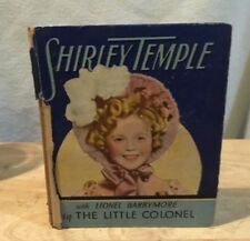 Shirley Temple book,big/little style,The Little Colonel, Saalfield Co,very good