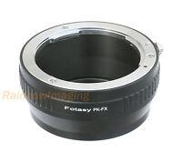 Pentax PK Manail Lens to Fujifilm X-Mount X-T1 X-T2 X-T10 X-T20 Camera Adapter