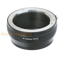 Pentax PK Manual Lens to Fujifilm X-Mount X-T1 X-T2 X-T10 X-T20 Camera Adapter