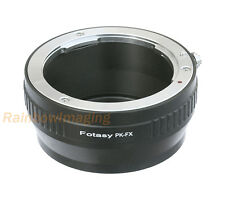 "Pentax PK Manail Lens to Fujifilm X-Mount X-T20 X-T100 X-H1 Adapter ""US Seller"""