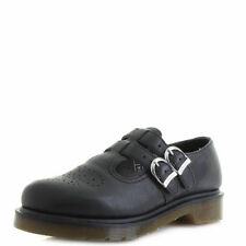 Dr. Martens Buckle Leather Flats for Women