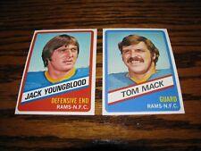 1976 Topps Wonderbread LOS ANGELES RAMS Team Set!!  NRMT Youngblood/Mack