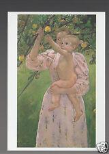 MARY CASSATT Child Picking a Fruit (1893) ART ARTWORK PAINTING POSTCARD