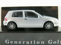 "Wiking/VW VW Golf IV ""Generation"" (1999) in silbermetallic 1:87/H0 NEU/OVP"