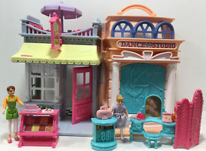 Vintage 2001 Fisher Price Sweet Streets Candy Shop & Dance Studio Complete EUC!