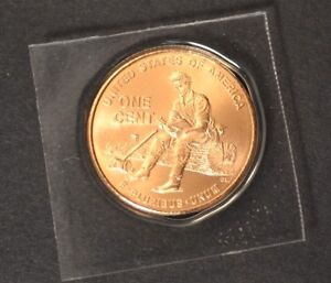 """2009 D Lincoln """"Formative Years"""" Cent  Satin Finish Copper Penny"""
