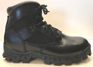 New Men's Rocky ALPHA FORCE Comp Toe Black Boot - 2167 - WIDE Sizes 3 - 8.5 Wide